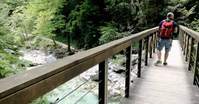 Beautiful nature of Slovenia – the Tolmin Gorge