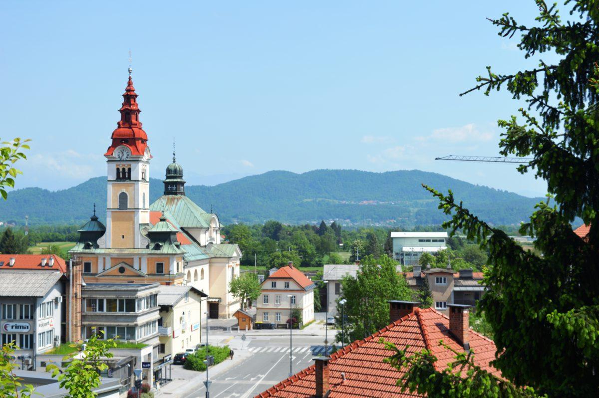 Ljubljana Suburbs: Šentvid and Tacen
