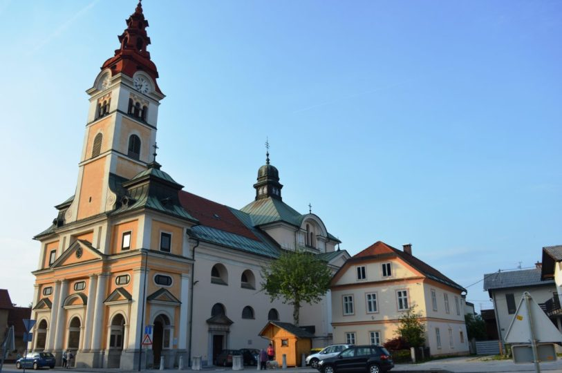 St. Vitus Church in Ljubljana Šentvid
