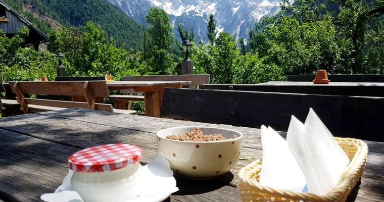 We recommend: Žganci at Šenk Homestead in Zgornje Jezersko