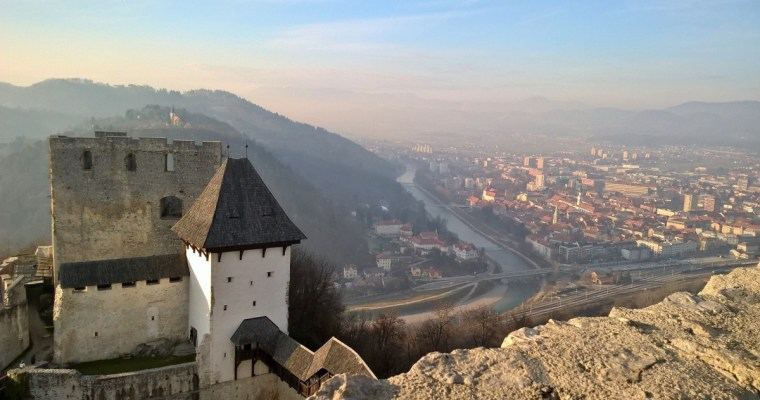 A walk through the Old Celje Castle