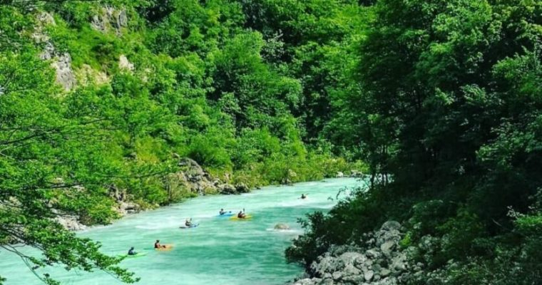 Soča Valley Among the Candidates For the Title of the Best European Destination 2021!