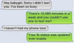 He's not that into you via text