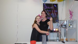 Emma's 11th birthday party in May 2015.
