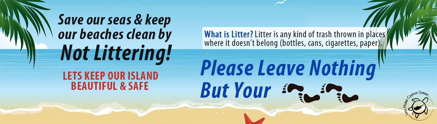 Keep our beaches clean