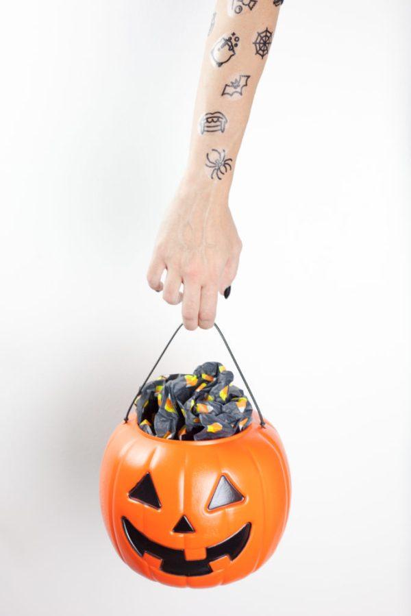 printable halloween temporary tattoos