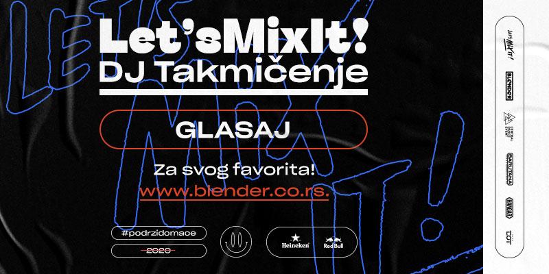 Polufinalisti Let's mix it DJ takmičenja