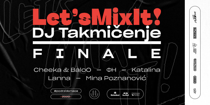Let's mix it DJ takmičenje – Finale