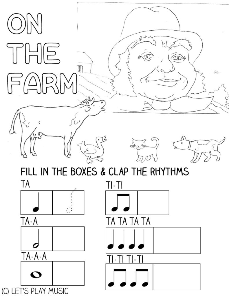 I Went To Visit A Farm One Day : First Nursery Songs