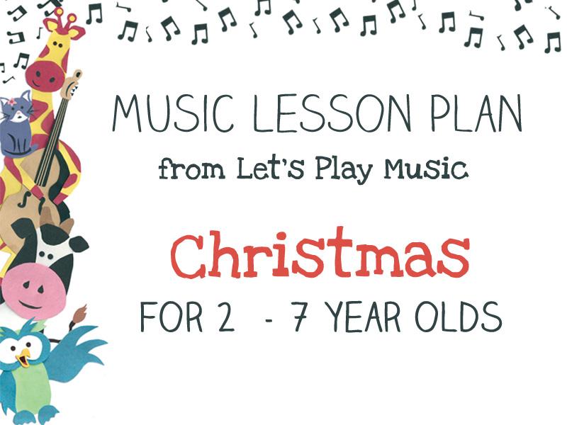 lesson plan christmas let