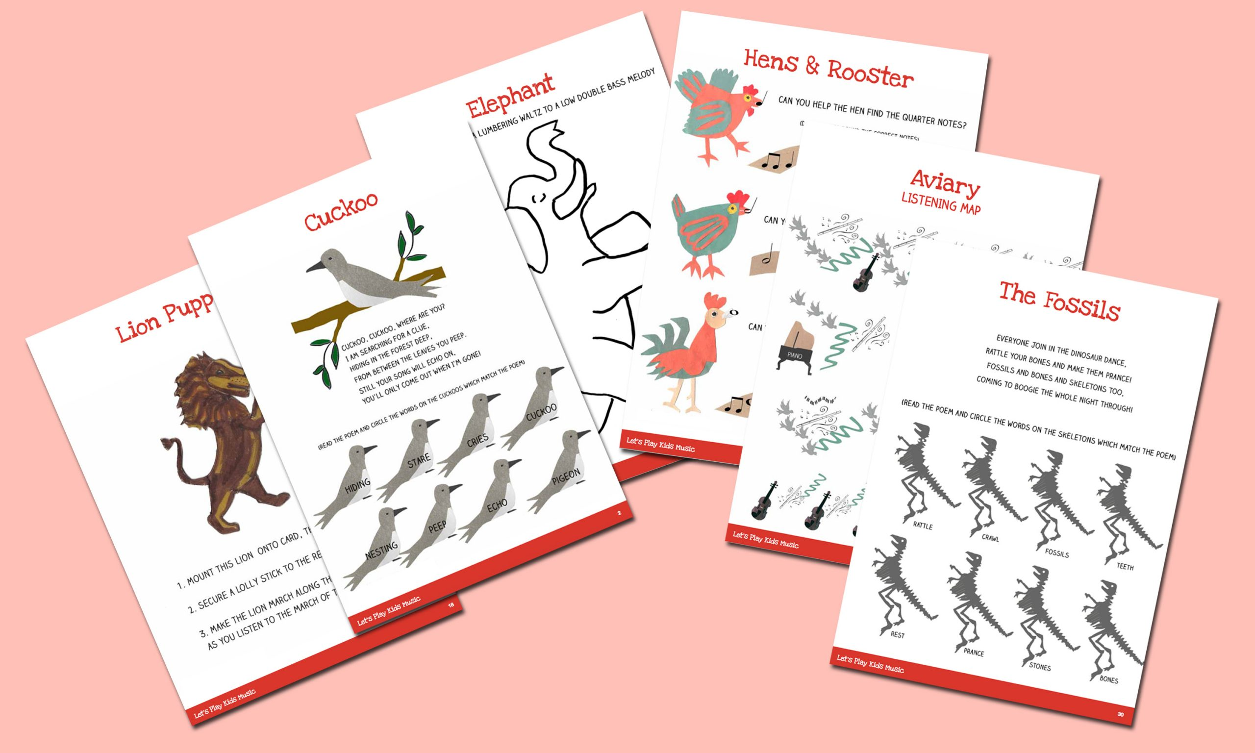 The Carnival Of The Animals Teaching Bundle