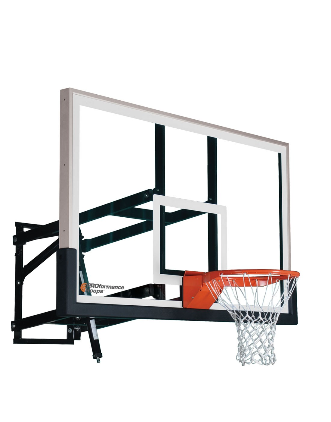 Wall Mount Wm60 Adjustable Basketball Hoop With 60 Inch