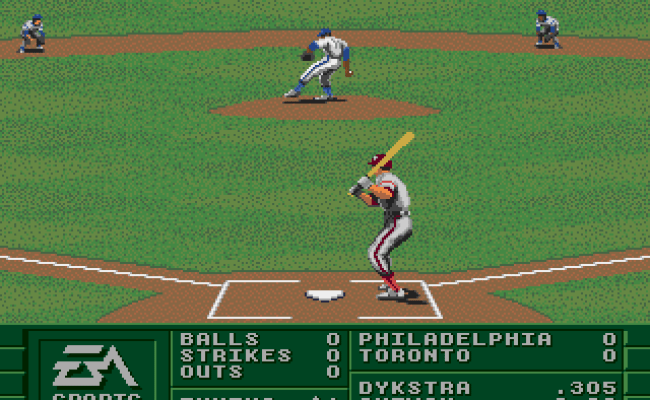 Play La Russa Baseball 95 Online Play Sega Genesis
