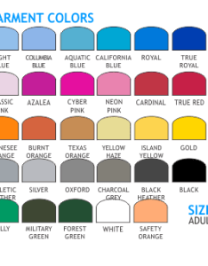 Lets print baby jerzees   shirts wearables iselin color chart also shirt colors arts rh muc con