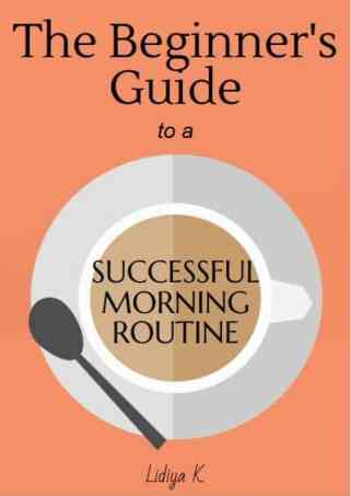 morning routines book cover