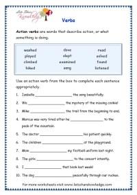 All Worksheets  Verbs Worksheets - Printable Worksheets ...