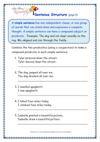 All Worksheets  Sentence Combining Worksheets - Printable ...