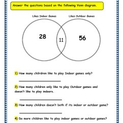 Grade 2 Venn Diagram Worksheets Wiring Two Three Way Switches 3 Maths Pictorial Representation Of Data 15 4 Carroll And Worksheet