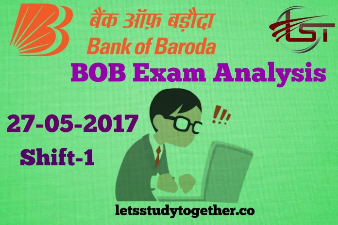 BOB Exam Analysis 2017