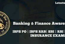 Banking and Finance Awareness Questions for IBPS PO Mains