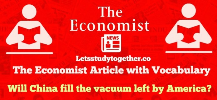 The Economist Editorial with Vocabulary