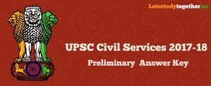 UPSC Civil Services Prelims Answer Key 2017