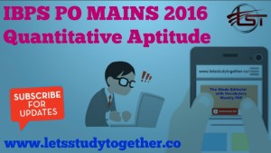 IBPS PO MAINS SOLUTIONS