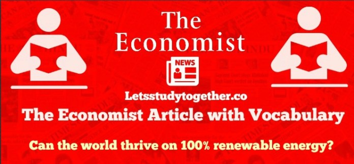 The Economist Articles with vocabulary