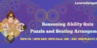 High Level Seating Arrangement for IBPS Clerk Mains