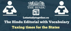 Editorial Words from The Hindu