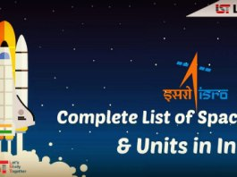 Complete List of Space Centres and Units in India : Download PDF