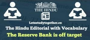 The Hindu Editorial Vocabulary Words