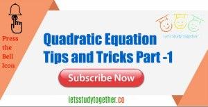 Quadratic Equation Tricks for IBPSPO/Clerk, IBPS RRB OS/OA,Insurance 2017