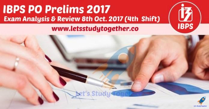 IBPS PO Prelims Exam Analysis & Review 2017