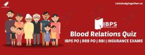 Blood Relations Quiz for IBPS Clerk