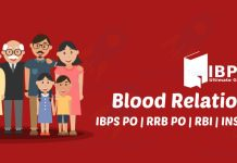 Blood Relations Quiz for IBPS Clerk