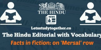 The Hindu Editorial with Vocabulary 26th October 2017