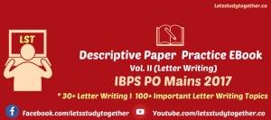 IBPS PO Descriptive Test Study Material