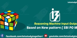 Reasoning New Pattern Machine Input Output