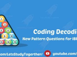 New Pattern Coding Decoding Questions