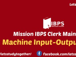 Machine Input-Output