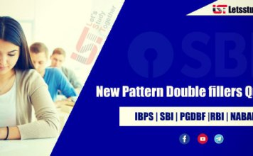 New Pattern Double fillers Questions for SBI PO/Clerk 2018