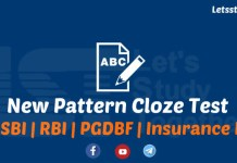 New Pattern Cloze Test