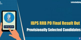 IBPS RRB PO Final Result
