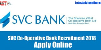 SVC Bank Clerk Recruitment