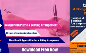 New Pattern Puzzle & Seating Arrangement PDF