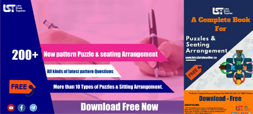 New Pattern Puzzle & Seating Arrangement PDF