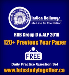 Railway RRB Group D & ALP Practice Questions