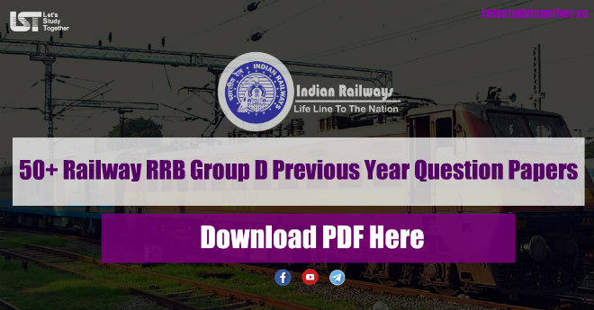 Railway RRB Group D Previous Year Question Papers