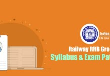 Railway RRB Group D Syllabus & Exam Pattern 2018